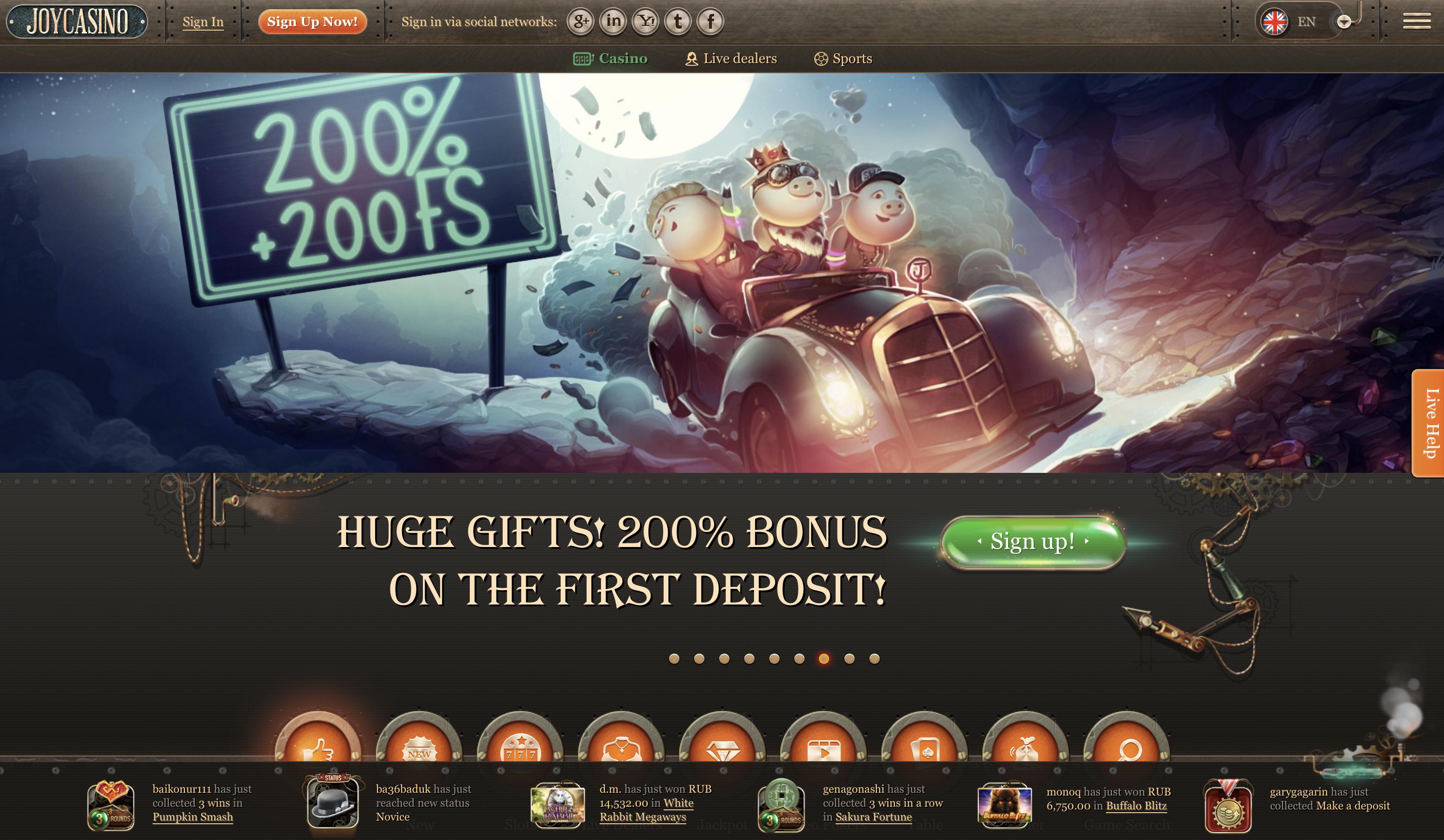 Jackpot game online free